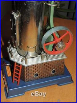 Vintage Wilesco Dampfmaschine Steam Engine Model D45 NICE! W. Germany