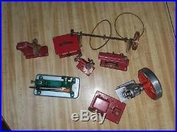Vintage Wilesco & Jensen Steam Engine Toy Work Shop Saw Press Drill Accessory