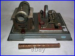 Vintage Wilesco Miniature Model Toy Steam Engine Made in West Germany