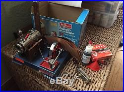 Vintage Wilesco Model D6 Toy Steam Engine in good condition, Tested Works