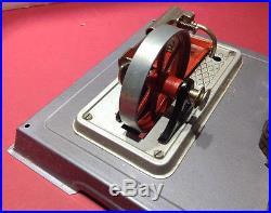 Vintage Wilesco Model D8 Steam Engine Model Toy West Germany-very Nice & Clean