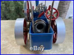 Vintage Wilesco Traktor Steam Engine Tractor Made in Western Germany