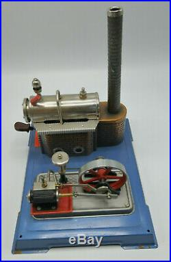 Vintage Wilesco d10 Type Steam Engine in Box Vintage Made in Germany Very Rare