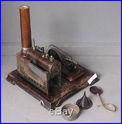 Vintage/antique, Horizontal Bing 130/451 (GBN) live steam engine 1909-1917