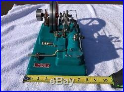 Vintage antique toy steam engine