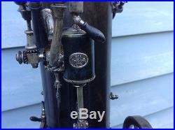 Vintage excelsior miniature steam engine