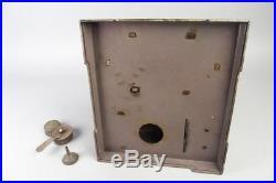 Vintage josef falk live steam engine, german pre war tin toy