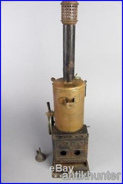 Vintage marklin convertible steam engine, tin toy made in germany around 1920´s