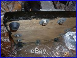 Vintage steam engine gear box differential model