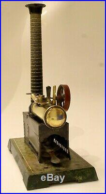 Vintage toy Bing Stationary steam engine