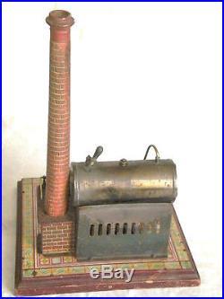Vintage toy steam engine machnie a vapeur Bing germany 1920s