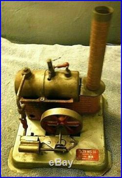 Vintage weeden toy steam engine