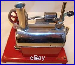 Vtg. 1950s Empire The Metal Ware Corp. #46 Electric 120 Volt Toy Steam Engine