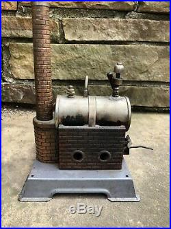 Vtg 1950s Wilesco D-4 Mini Steam Engine Model Toy Made In Germany Ex+ Works