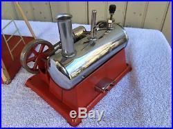 Vtg Empire Steam Engine Windmill Water Pump & Vgc 43 Steam Engine Pair