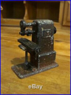 Vtg JENSEN MFG Steam Engine Toy Machine Work Shop #100 sample size working