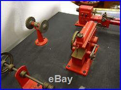 Vtg Langes Legetoj Toy Steam Engine Battery Power Tools Salesman Sample Display