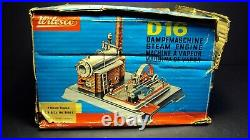 Vtg Wilesco d16 Steam Engine With Box Complete from Germany Antique Toy