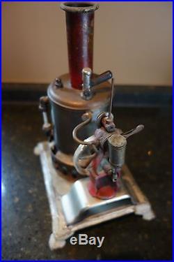 Weeden #17 Vintage Toy Steam Engine Reversible