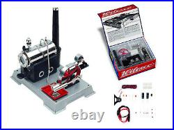 WILESCO D100E TOY STEAM ENGINE KIT w. Dynamo and LED NEW + FREE SHIPPING