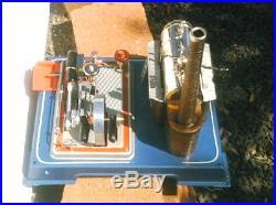 WILESCO D16 STEAM ENGINE (DAMPFMASCHINE) Made In WEST GERMANY