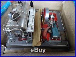 WILESCO D20 Steam Engine In Original Box Plus Accessories