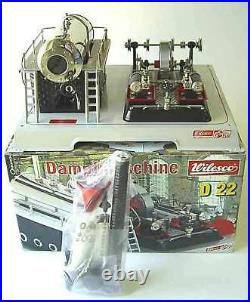 WILESCO D22 TOY STEAM ENGINE NEW + S&H FREE + Made in Germany