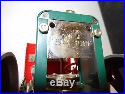 Wilesco D36 Old Smoky German Steam Engine Roller Original Box & Manual