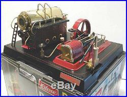 WILESCO D 21 Live Steam Engine-NIB High Quality Steam Toy Boiler & Engine pump