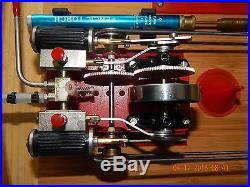 WILESCO D-48 MARINE CUSTOM-MODIFIED TOY LIVE STEAM ENGINE / NEW