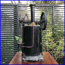 WOW! ANTIQUE 1800s RARE UNUSUAL BIG RADIGUET PARIS LIVE STEAM TOY MODEL ENGINE