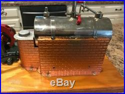 WOW! Vintage 1960 Rare JENSEN STYLE 10 MODEL STEAM ENGINE ELECTRIC DYNAMO PLANT