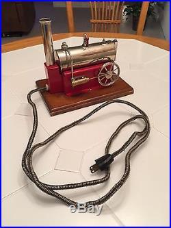 Weeden Horizontal Electrically Heated Toy Steam Engine No. 43