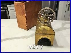 Weeden Live Steam Engine Model 72 Rare Vintage