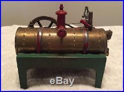 Weeden No. 14 Steam Engine with Rare Green Base