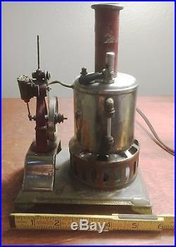 Weeden No 17 Rare Nickel Plated Antique Steam Engine. 1890-1930 Low reserve
