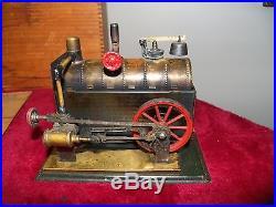 Weeden No. 7 Horizontal Steam Engine in Original Wooden Box 1890-1907 Era