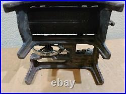 Weeden Steam Engine on Platform Cast Iron Arcade Scale Model 1930's VINTAGE