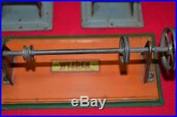 Weeden brass steam engine with accessory parts