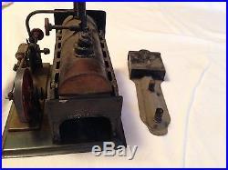 Weeden no 7 steam engine with burner 1890-1907
