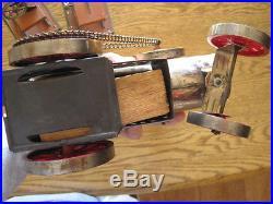Weeden steam engine tractor plus 3 tools Saw Grinder Stamper 643