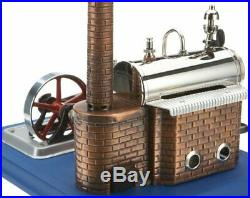 Wilesco 10steam engine D10, 155 ml boiler contents, including safety valve and