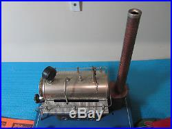 Wilesco D20 Steam Engine, Ferris Wheel, Solid Fuel and More