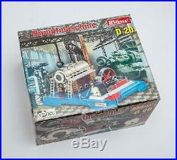 Wilesco D20 Steam Engine Metal Toy In The Box Beautiful Condition
