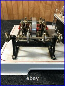 Wilesco D22 Dampf-Maschine Live Steam Engine Toy Made in Germany Mint Look RARE