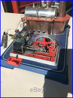 Wilesco D24 toy steam engine made in germany