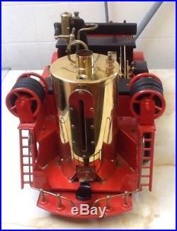 Wilesco D305 TOY STEAM FIRE ENGINE