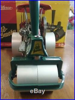 Wilesco D365 TOY STEAM ENGINE ROLLER'OLD SMOKEY