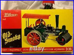 Wilesco D365 Toy STEAM ENGINE ROLLER New in original box FREE SHIPPING