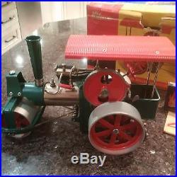 Wilesco D36 Old Smokey live steam roller working steam engine model toy